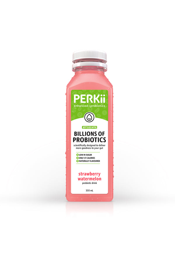 Perkii Probiotics Drink Strawberry and Watermelon 350 ML