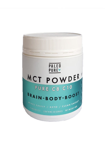 Paleo Pure MCT Oil Powder C8 C10 180g