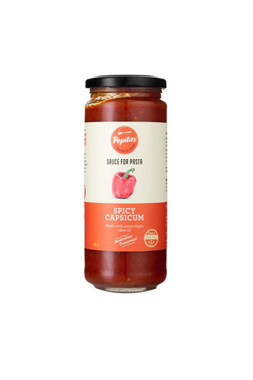 Pepitas Spicy Capsicum Pasta & Pizza Sauce 450 ML