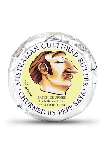 Pepe Saya Salted Cultured Butter 225 G