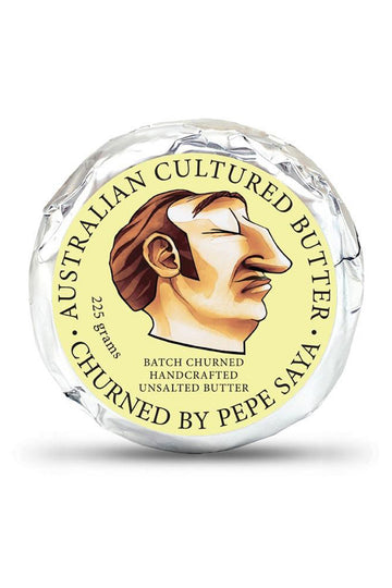 Pepe Saya Unsalted Cultured Butter 225 G