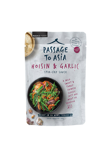 Passage To Asia Hoisin & Garlic Stir-Fry Sauce 200g