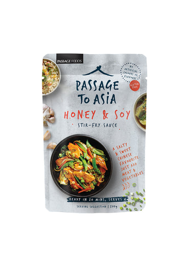 Passage To Asia Honey & Soy Stir Fry Sauce 200g
