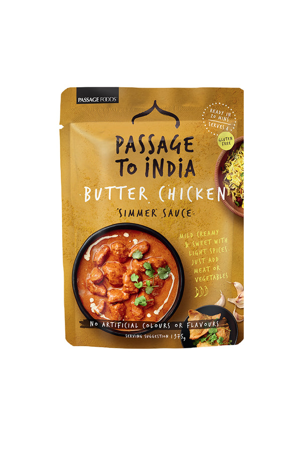 Passage To India Butter Chicken Simmer Sauce 375g