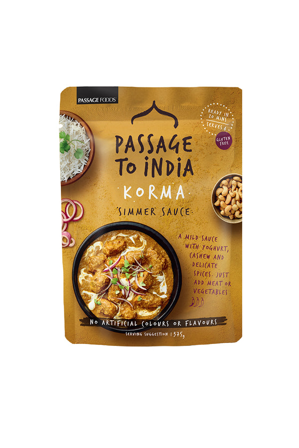 Passage To India Korma Simmer Sauce 375g