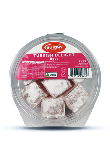 Sultan Rose Turkish Delight 200G
