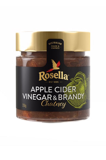 Rosella Apple Cider Vinegar & Brandy Chutney 250 G
