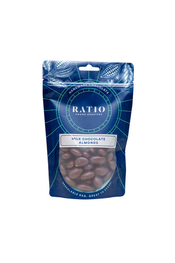 Ratio Cocoa Milk Chocolate Almonds 200g