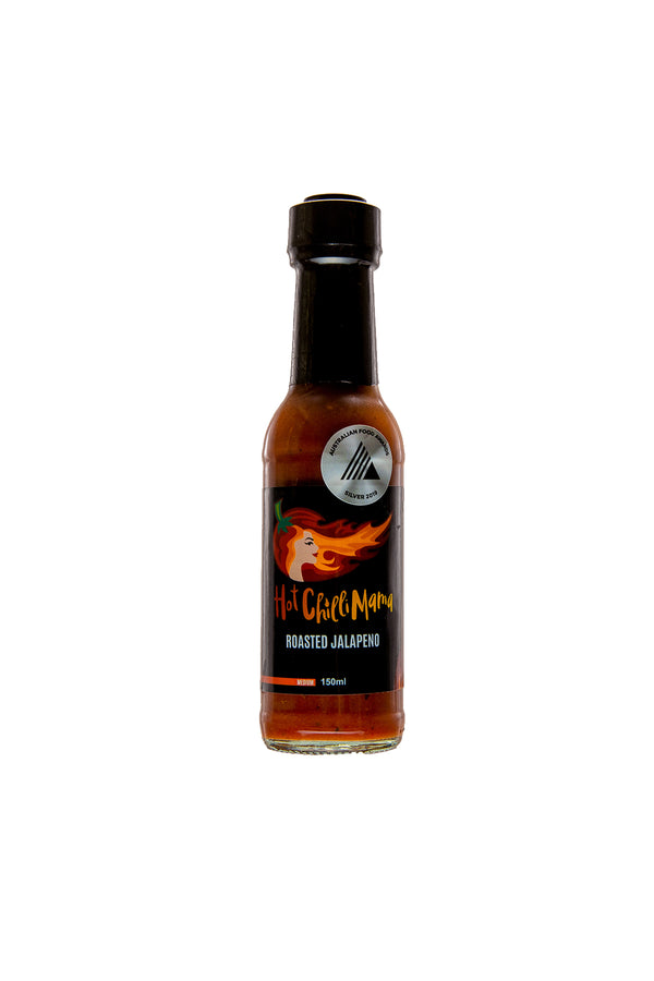 Hot Chilli Mama Roasted Jalapeno & Garlic 150 ML