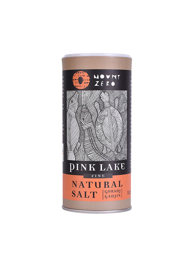 Mount Zero Olives Pink Lake Natural Salt Fine 200 G