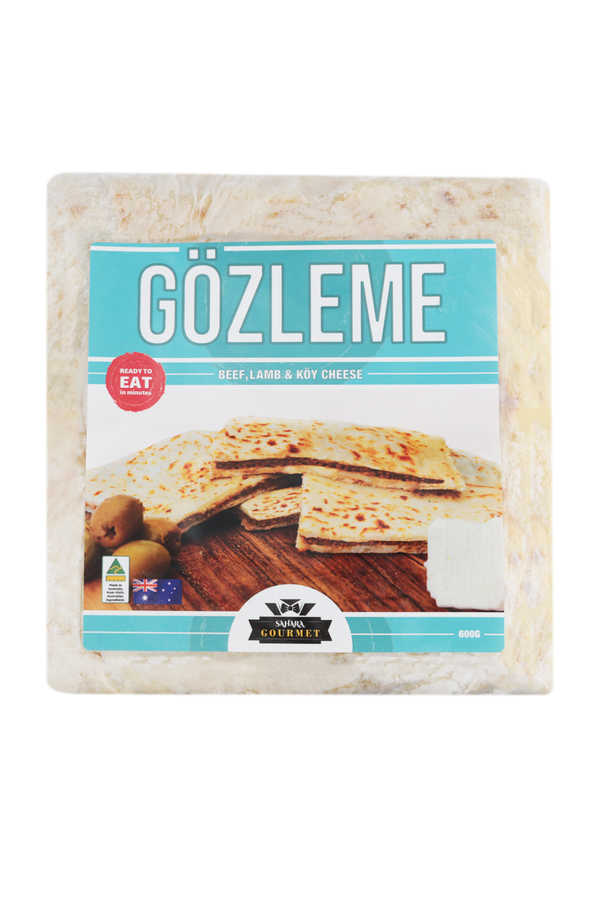 Sahara Gözleme Lamb,Beef And Cheese 600 G (Twin Pack)