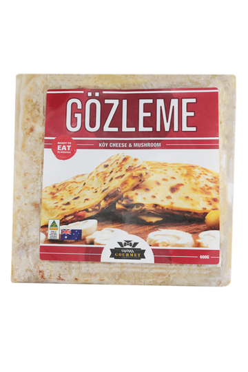 Sahara Gözleme Mushroom & Köy Cheese 600 G (Twin Pack)