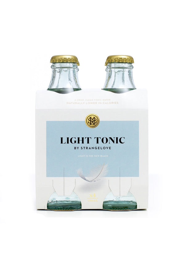Strangelove Light Tonic Water 180ml x 4 Pack