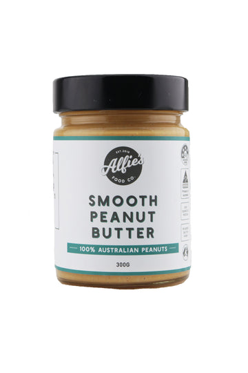 Alfie's Food Co Smooth Peanut Butter 300 G