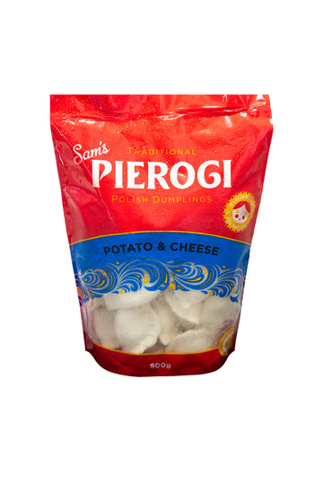 Sam's Pierogi Traditional Potato & Cheese Polish Dumplings 800 G