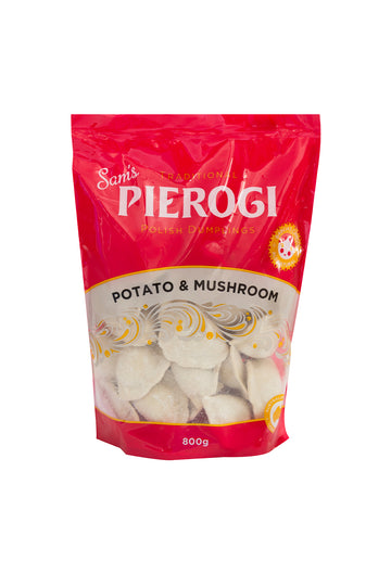 Sam's Pierogi Traditional Potato & Mushroom Polish Dumplings 800 G