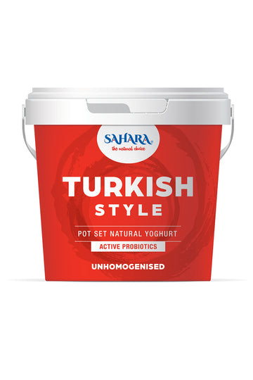 Sahara Turkish Style Natural Yoghurt 1KG