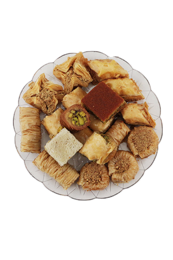Sweet Inspirations Lebanese Patisserie Mixed Backlawa Christmas Hamper Assorted Flavours