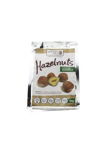 The Artisan Mill Hazelnuts  Activated Kernels 250g