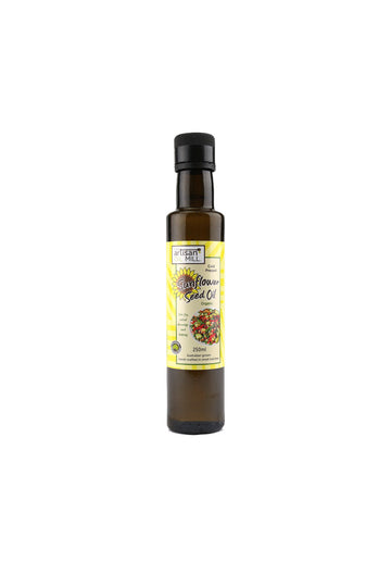 The Artisan Mill Organic Cold Pressed Sunflower Seed Oil 250ml