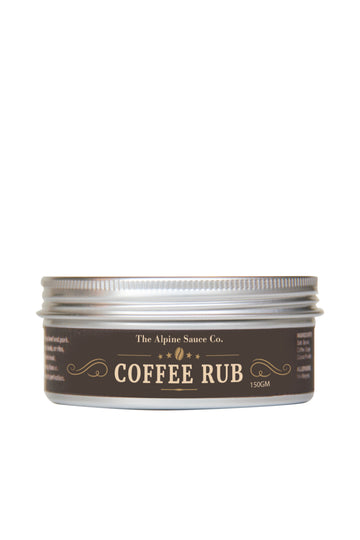 The Alphine Sauce Co Coffee Rub 150 G