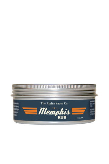 The Alpine Sauce Co Memphis Rub 150 G