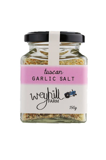 Weyhill Farm Tuscan Garlic Salt 120 G