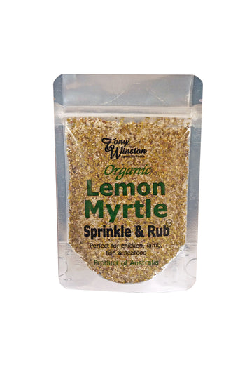 Tony's Own Organic Lemon Myrtle 100g