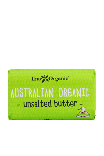 True Organic Unsalted Butter 250 G