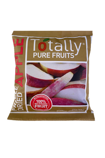 Totally Pure Fruits Freeze Dried Apple 25g