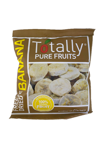 Totally Pure Fruits Freeze Dried Banana 50g