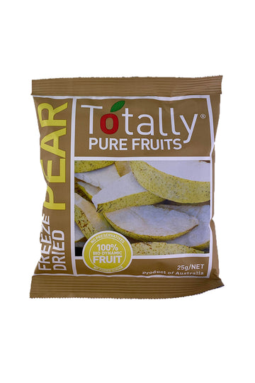 Totally Pure Fruits Freeze Dried Pear 25g