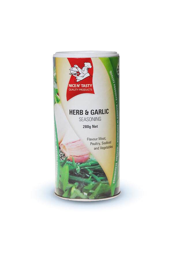 Tasty Spices Herb & Garlic Seasoning 280 G