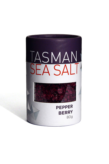Tasman Sea Salt With Pepper Berry 80 G