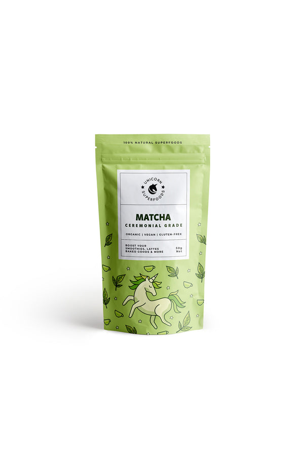 Unicorn Superfoods Organic Ceremonial Matcha 50g