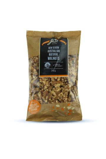 JC'S Walnuts Natural Australian 240G