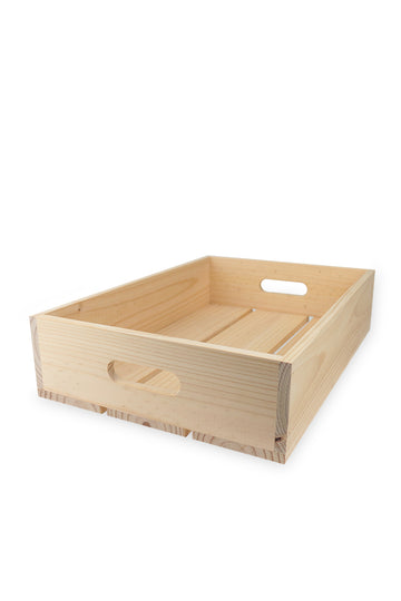 Wooden Fruit/Veggie Crate