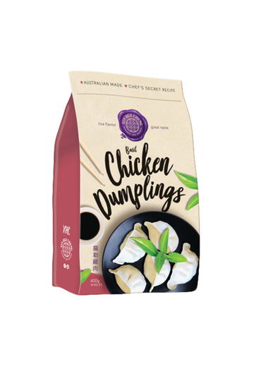 Xin Hua Cheng Basil Chicken Dumplings 16 pieces 400 G