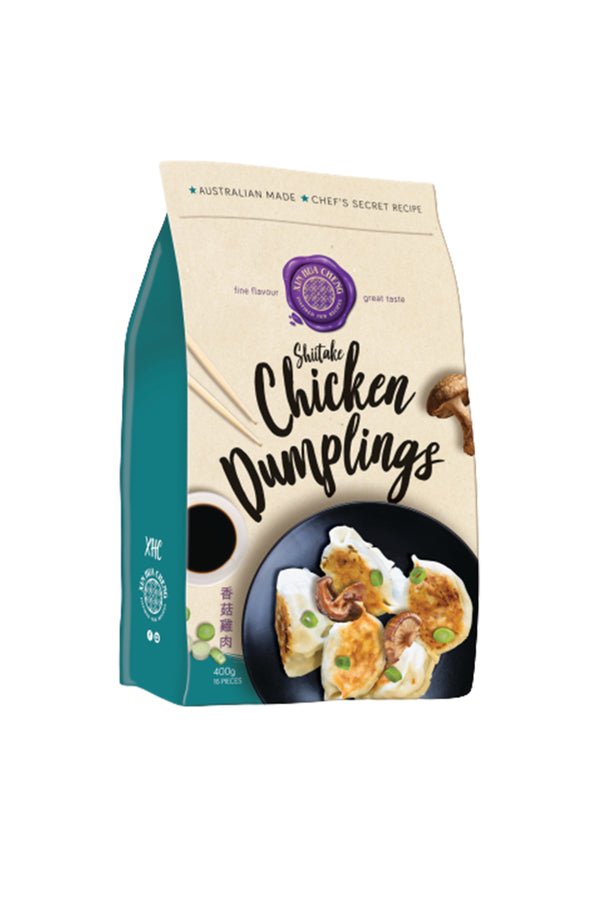 Xin Hua Cheng Shiitake Chicken Dumplings 16 pieces 400 G