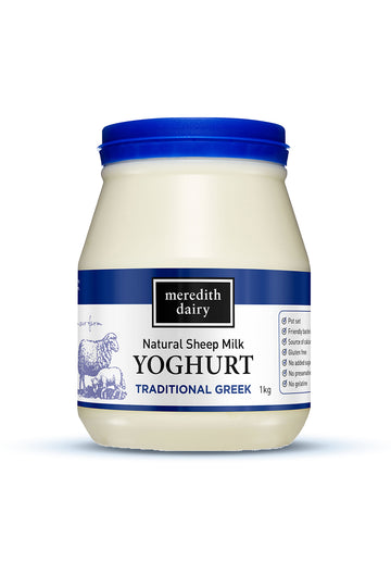 Meredith Dairy Sheep Yogurt Greek Style 1 KG