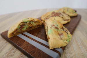 Mint Areo Chocolate Chunk Cookies (125g each)