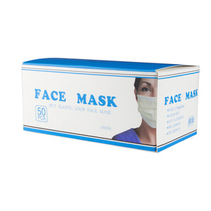 Disposable 3 Ply Face Masks