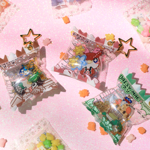 AC Candy Bag Charm Set