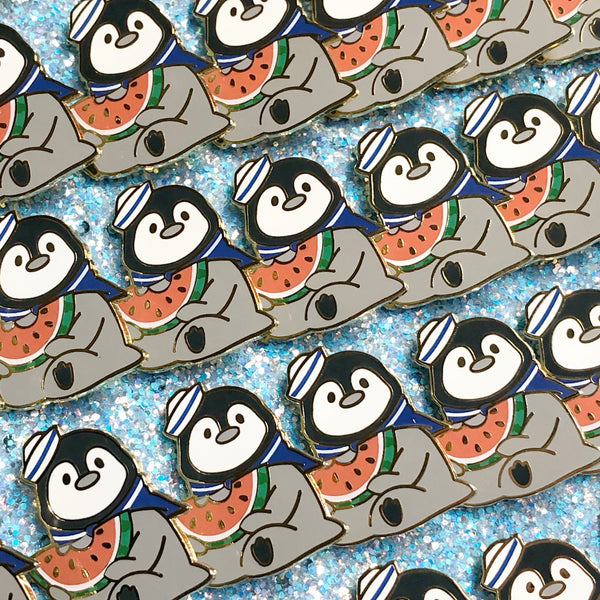 Sailor Penguin Enamel Pin