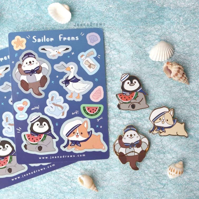 Sailor Frens Value Set