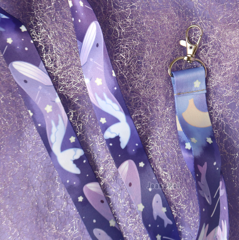 Dream Whale Lanyard