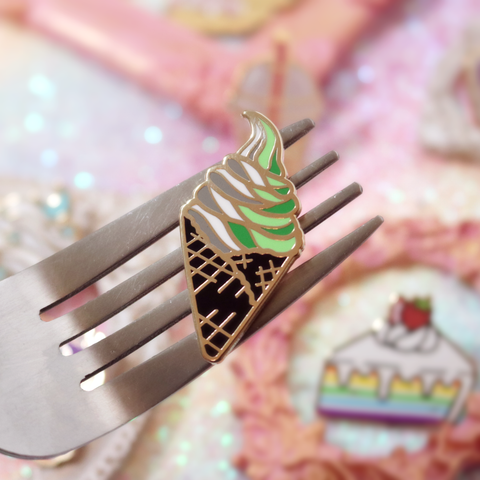 Aro Icecream Enamel Pin
