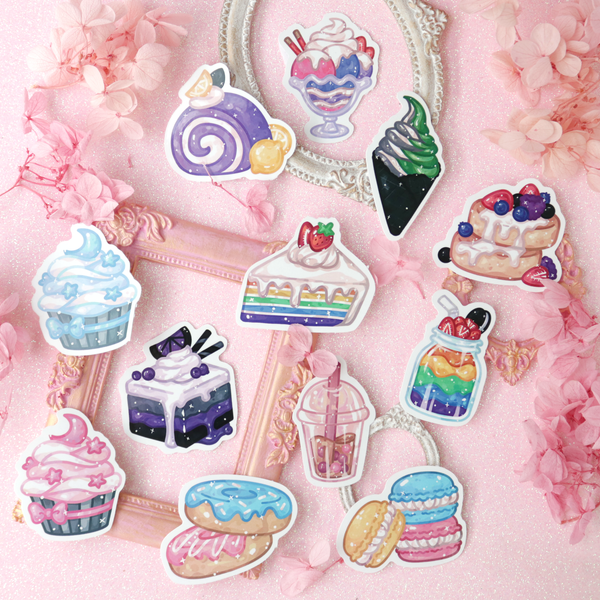 Sweet Pride Stickers Pack of 12