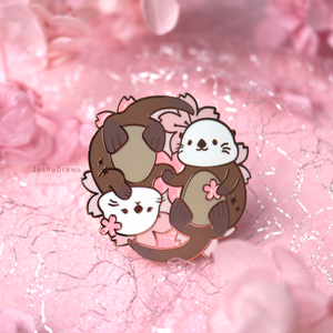Significant Otter Enamel Pin