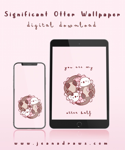 Significant Otter Wallpaper [Digital Download]